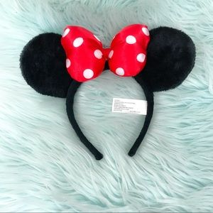 Authentic Disney Parks Minnie Mouse Ears Headband